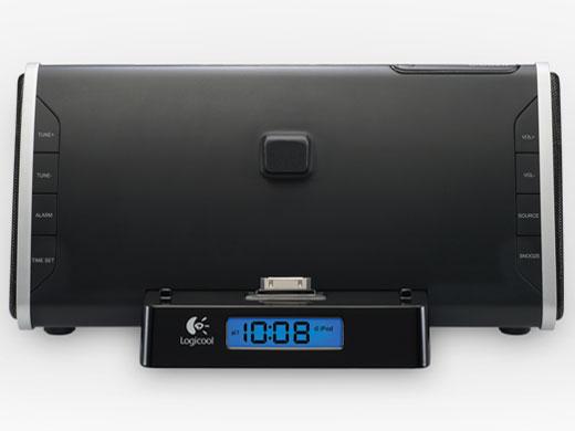 『本体正面』 Logicool Bedside Dock TS300 [ブラック] の製品画像