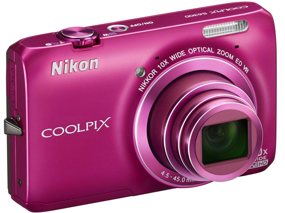『本体 正面』 COOLPIX S6300 [ファッションピンク] の製品画像