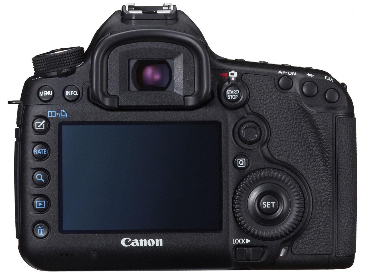 『本体 背面』 EOS 5D Mark III ボディ の製品画像