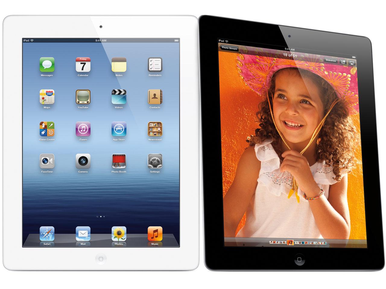 『本体 画面イメージ』 iPad Wi-Fiモデル 16GB MC705J/A [ブラック] の製品画像