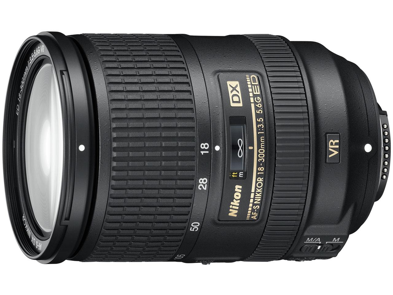 AF-S DX NIKKOR 18-300mm f/3.5-5.6G ED VR の製品画像