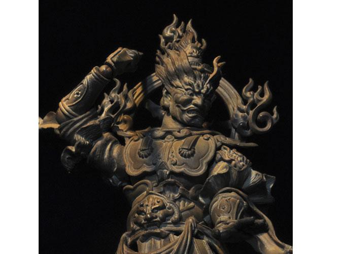 『アングル4』 リボルテックタケヤ No.004EX 増長天 木彫版 の...  『アングル4』