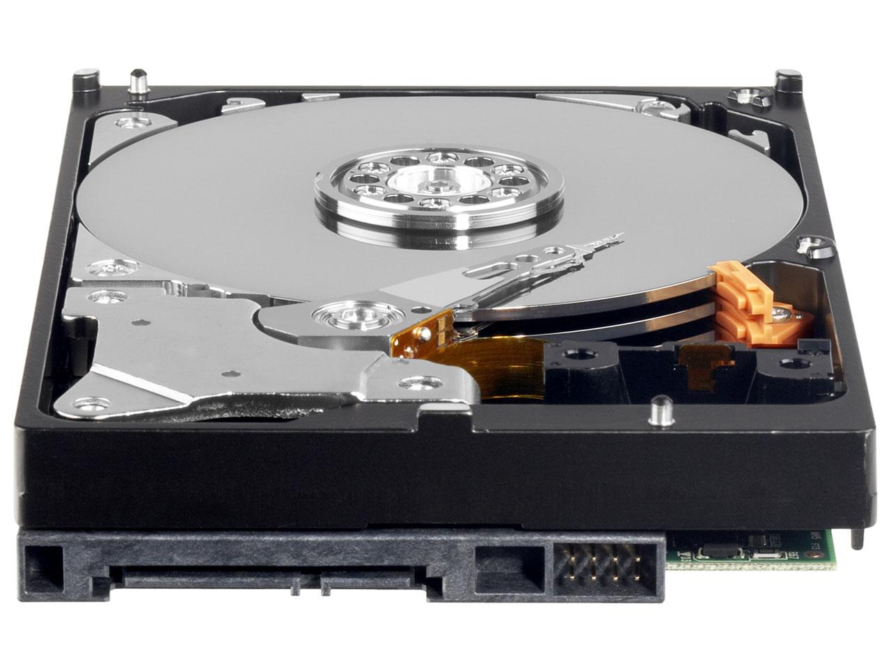 『本体 底面』 WD20EZRX [2TB SATA600] の製品画像