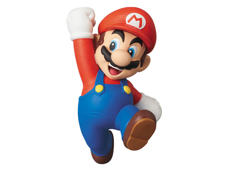 ウルトラディテールフィギュア No.176 NEWスーパーマリオブラザーズ Wii マリオ の製品画像