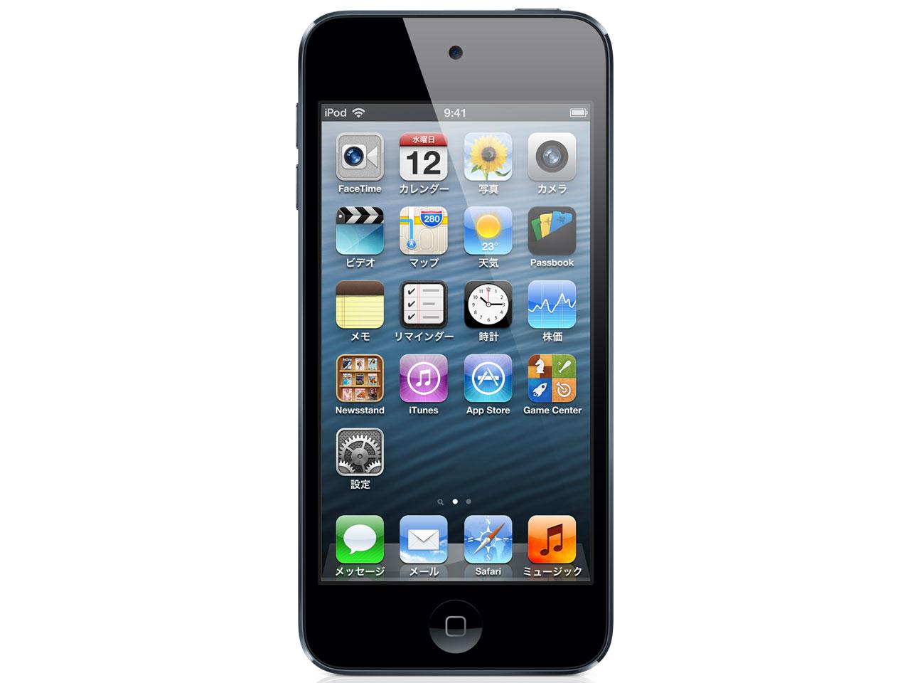 iPod touch MD723J/A [32GB ブラック&スレート] の製品画像
