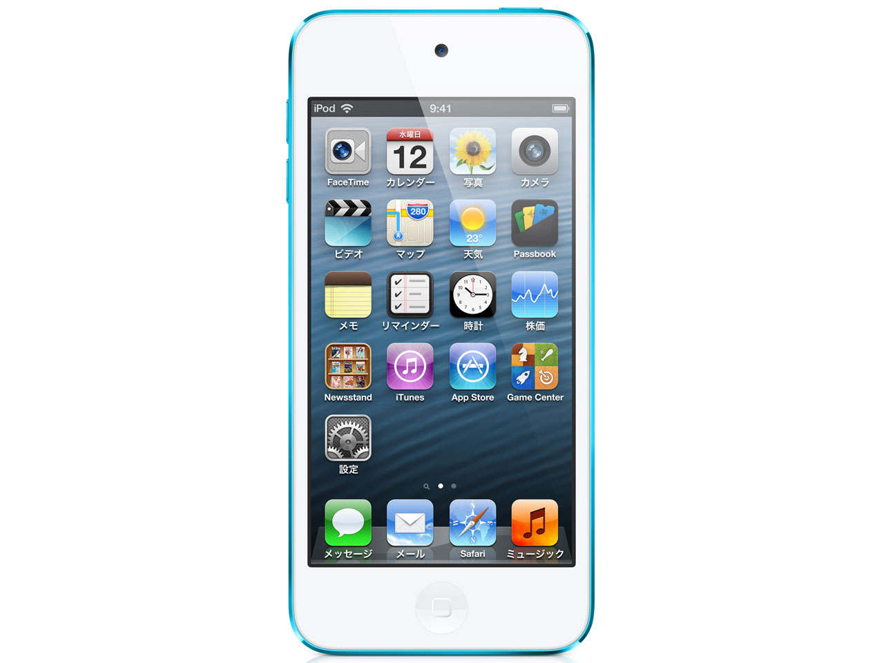 iPod touch MD717J/A [32GB �u���[] �̐��i�摜