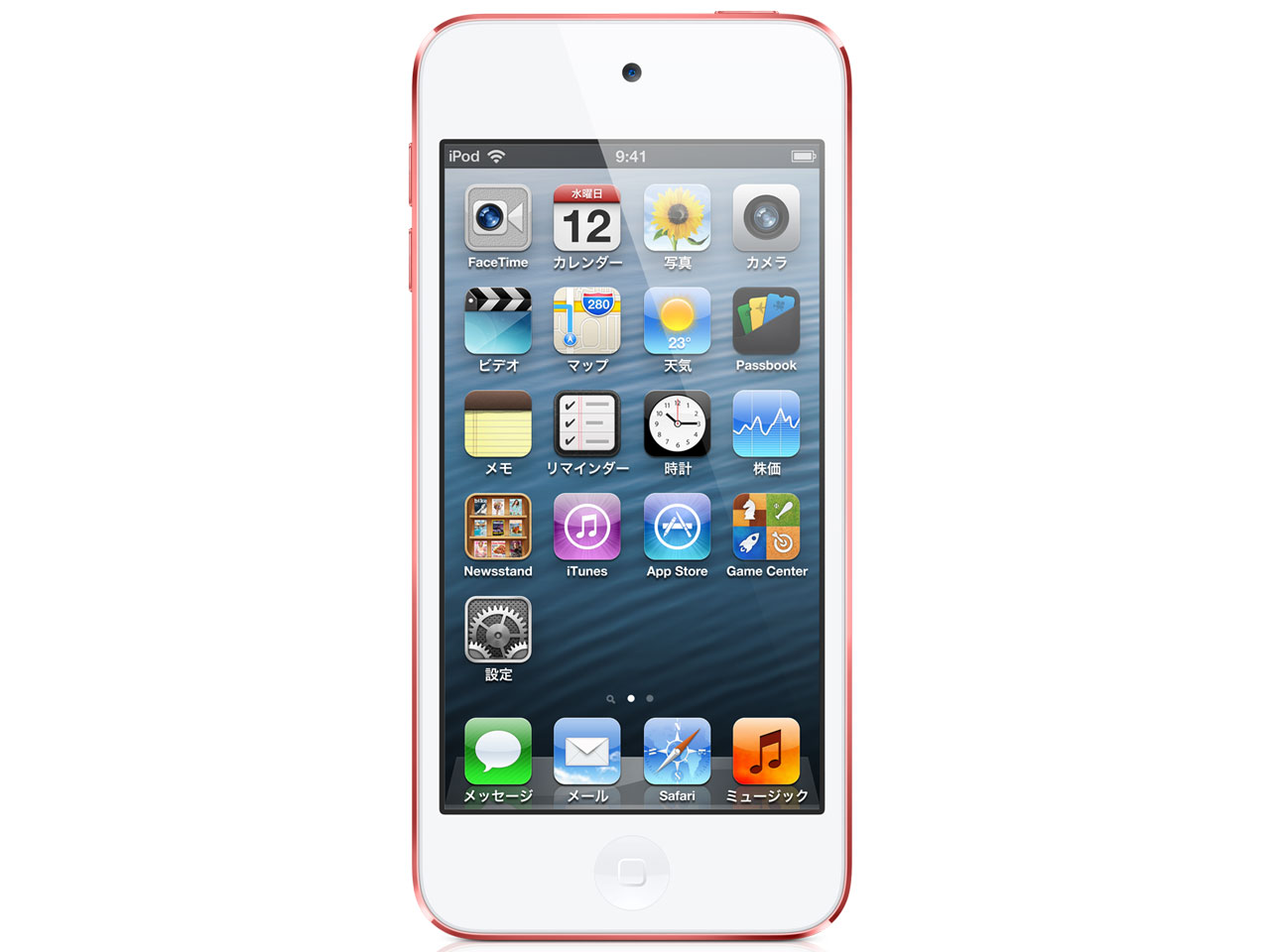 iPod touch MC903J/A [32GB ピンク] の製品画像