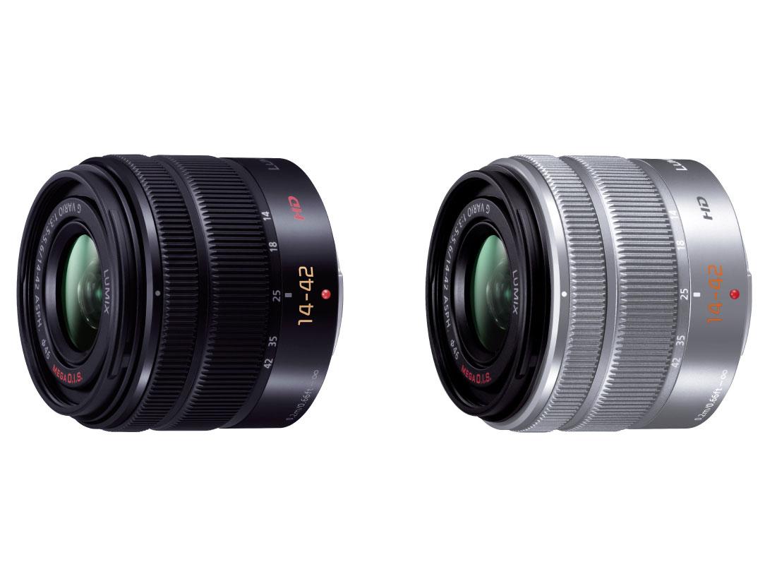 『カラーバリエーション』 LUMIX G VARIO 14-42mm/F3.5-5.6 II ASPH./MEGA O.I.S. H-FS1442A-K [ブラック] の製品画像