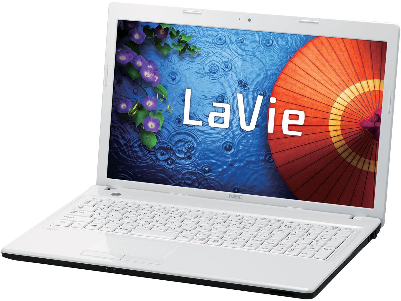 LaVie E LE150/M1W PC-LE150M1W の製品画像