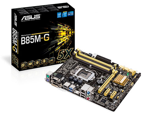 『本体 パッケージ』 B85M-G の製品画像