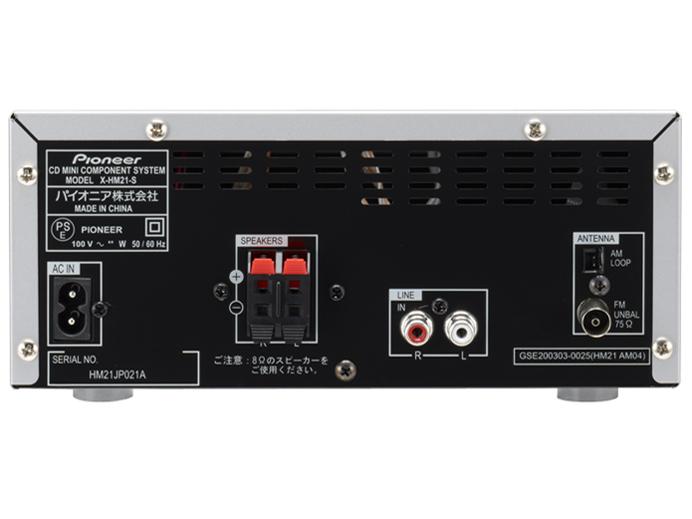 『本体 接続端子』 X-HM21-S の製品画像