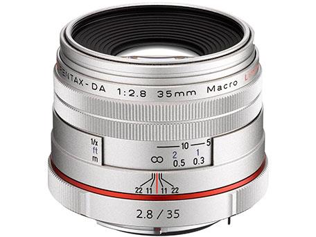 HD PENTAX-DA 35mmF2.8 Macro Limited [シルバー] の製品画像