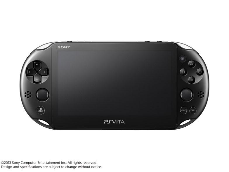 PlayStation Vita (プレイステーション ヴィータ) Wi-Fiモデル PCH-2000 ZA11 [ブラック] の製品画像