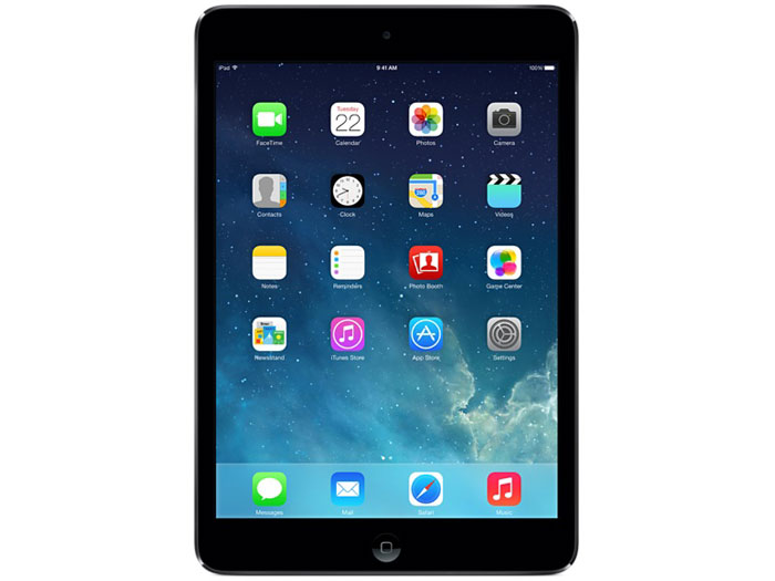 iPad mini 2 Wi-Fiモデル 16GB ME276J/A [スペースグレイ] の製品画像