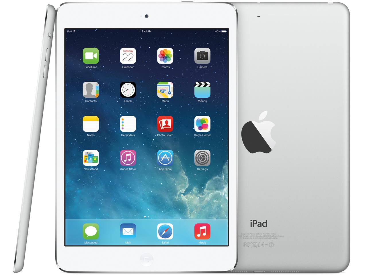 iPad mini 2 Wi-Fiモデル 16GB ME279J/A [シルバー] の製品画像