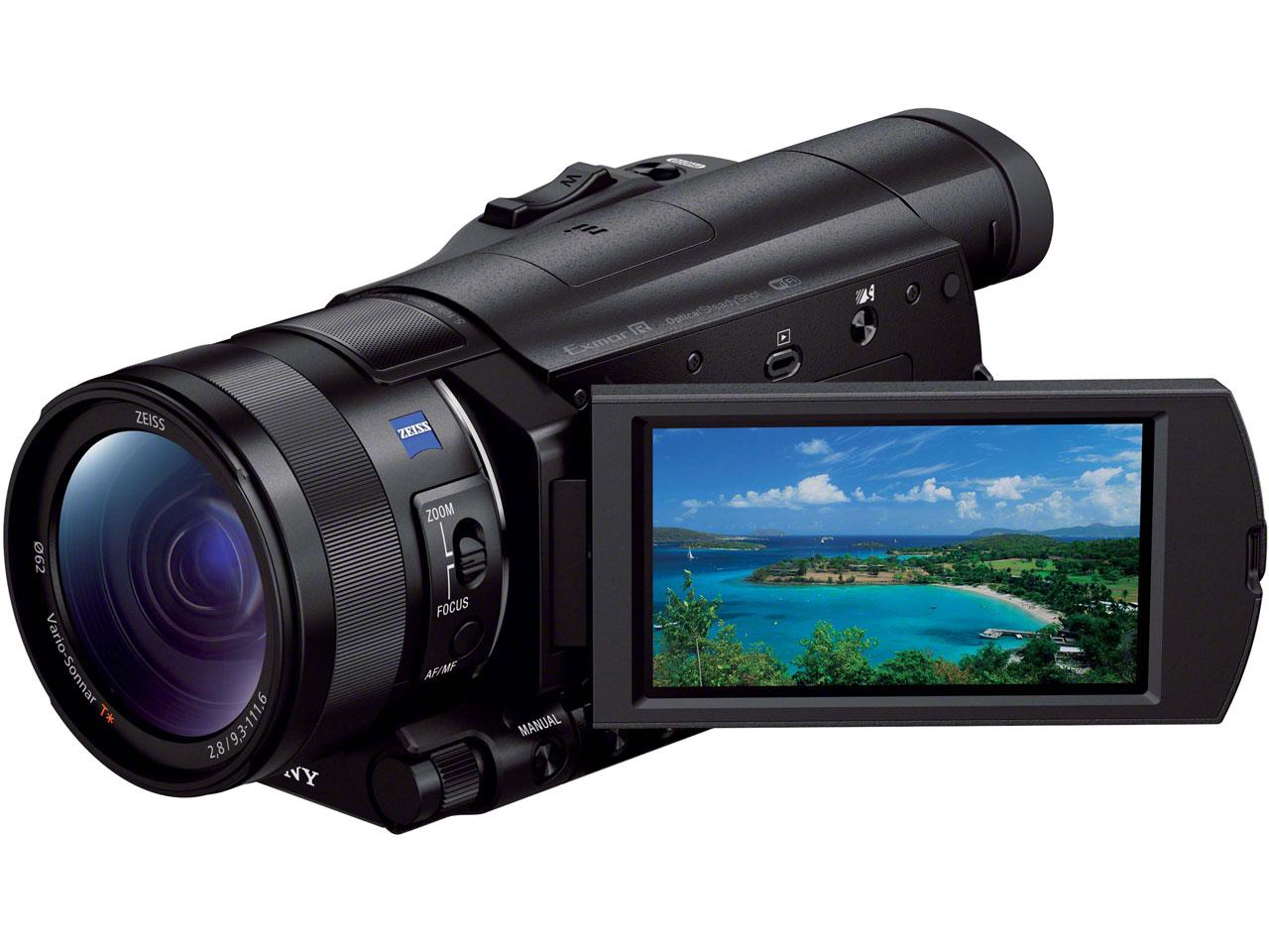 FDR-AX100 の製品画像