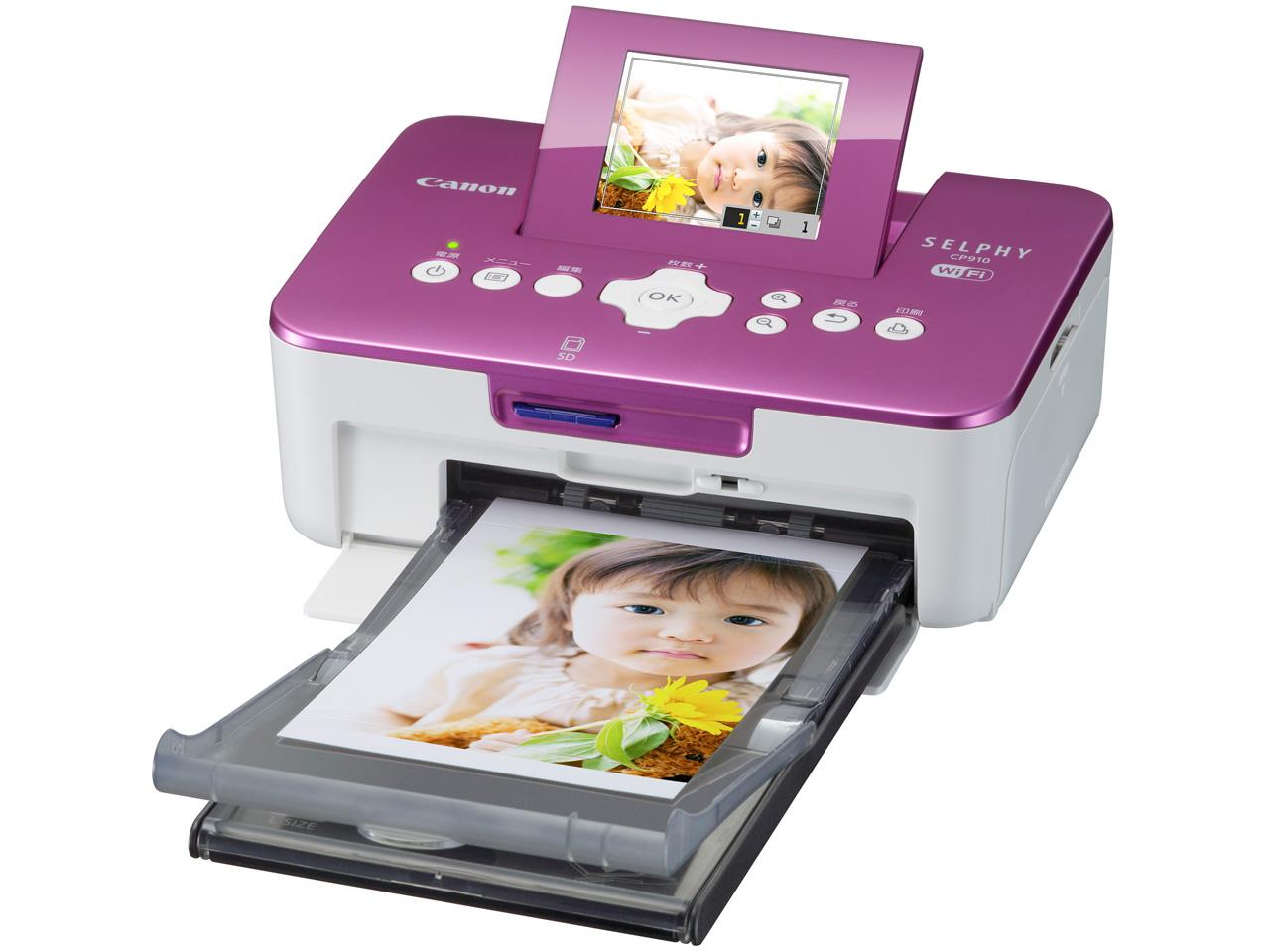 CANON SELPHY CP910(PK) 相片印表機