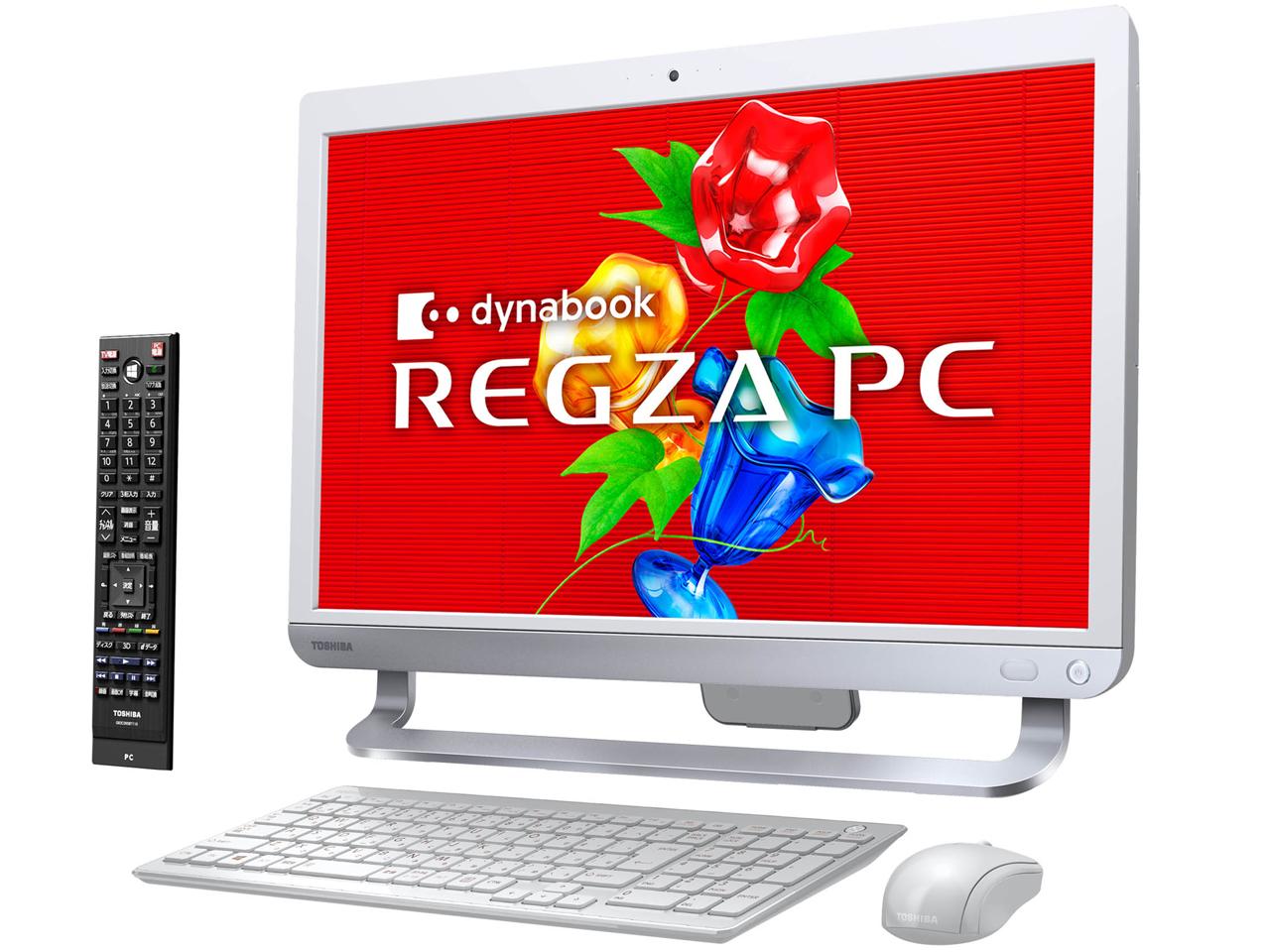 �w�{�� �߁x REGZA PC D71 D71/T7MW PD71-T7MBXW [�����N�X�z���C�g] �̐��i�摜