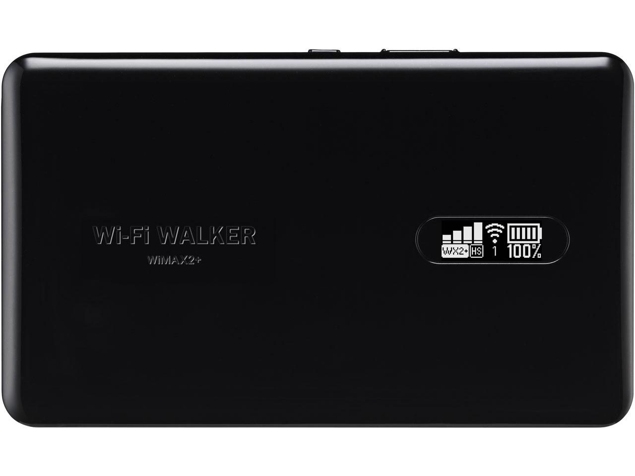 Wi-Fi WALKER WiMAX 2+ NAD11 �u���b�N