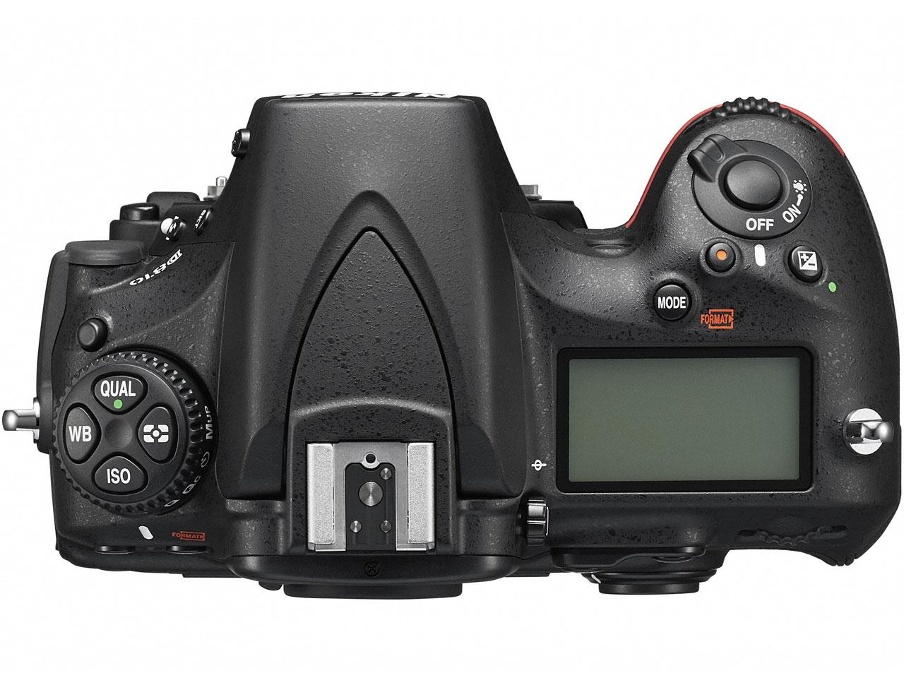 『本体 上面』 D810 ボディ の製品画像