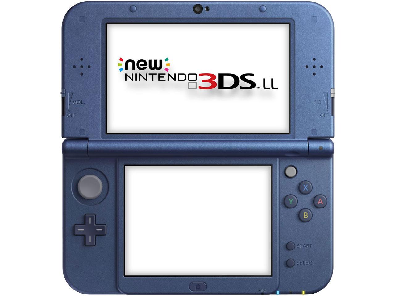 �w�{��1�x New�j���e���h�[3DS LL ���^���b�N�u���[ �̐��i�摜