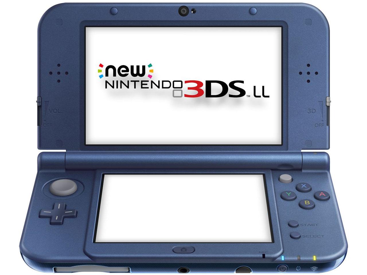 『本体2』 Newニンテンドー3DS LL メタリックブルー の製品画像