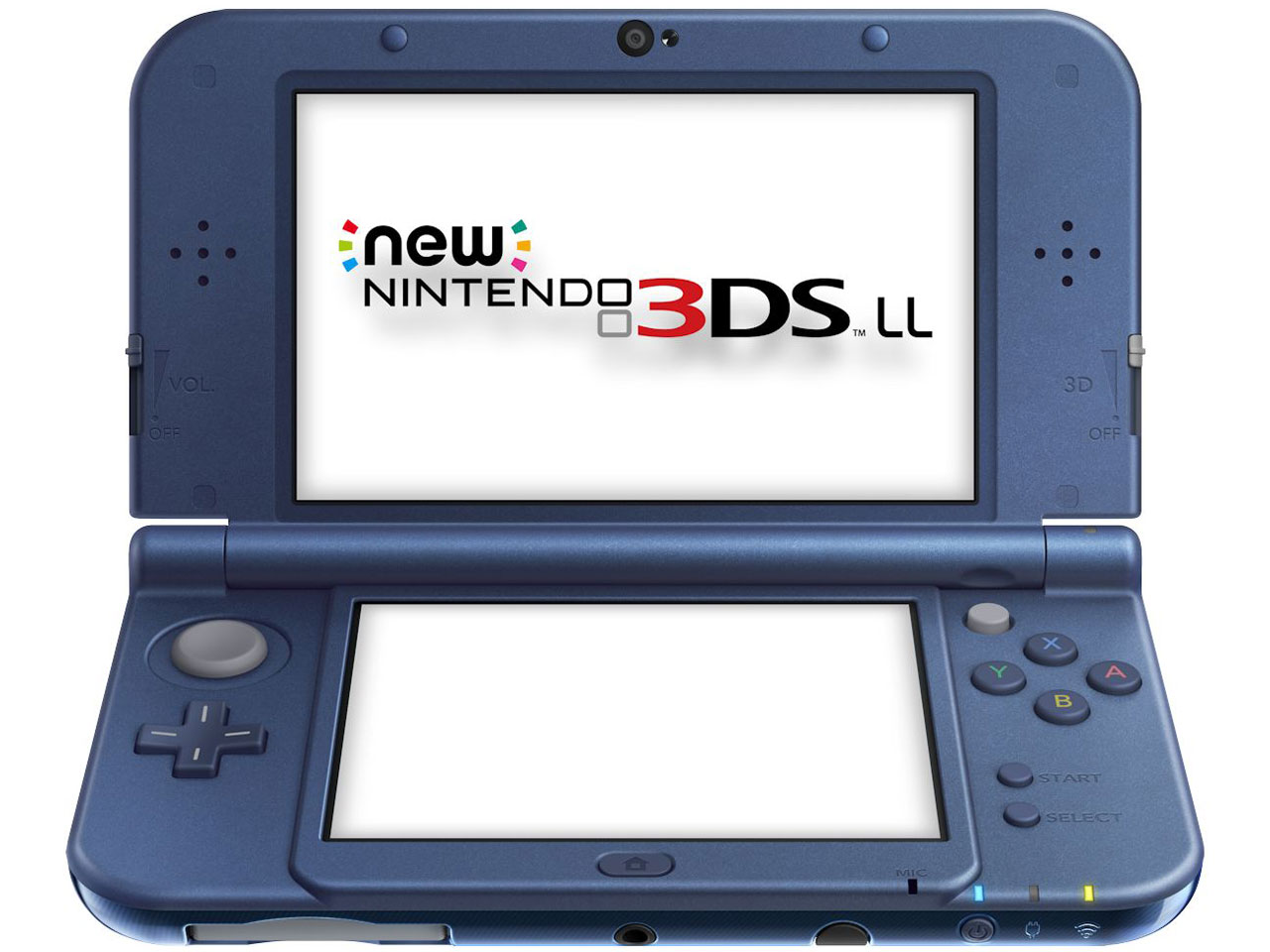 �w�{��2�x New�j���e���h�[3DS LL ���^���b�N�u���[ �̐��i�摜