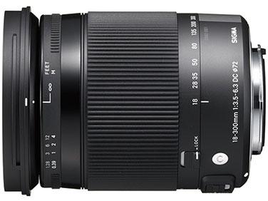 18-300mm F3.5-6.3 DC MACRO OS HSM [キヤノン用] の製品画像