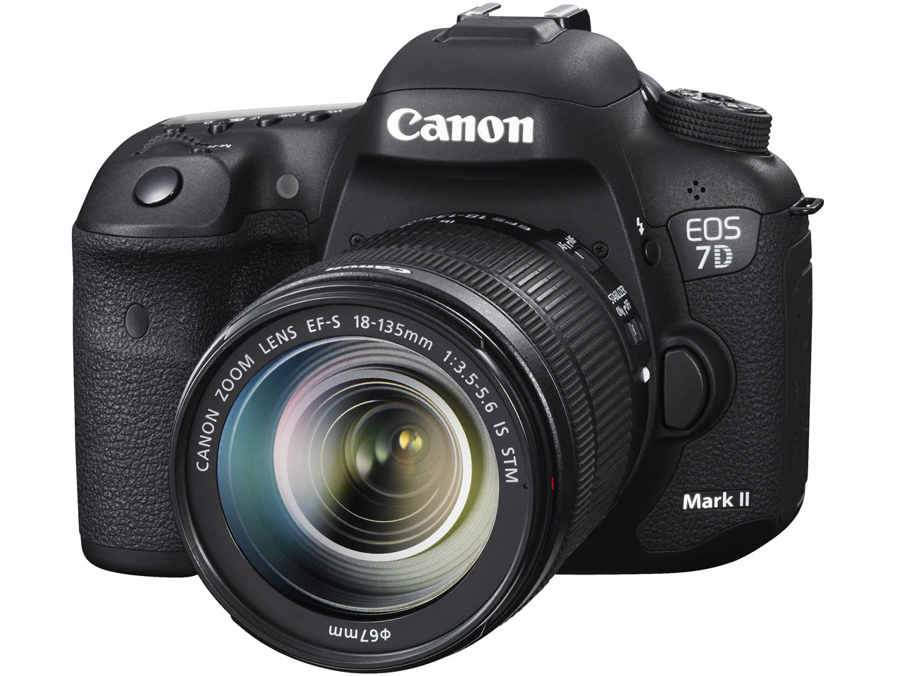 『本体 正面2』 EOS 7D Mark II EF-S18-135 IS STM レンズキット の製品画像