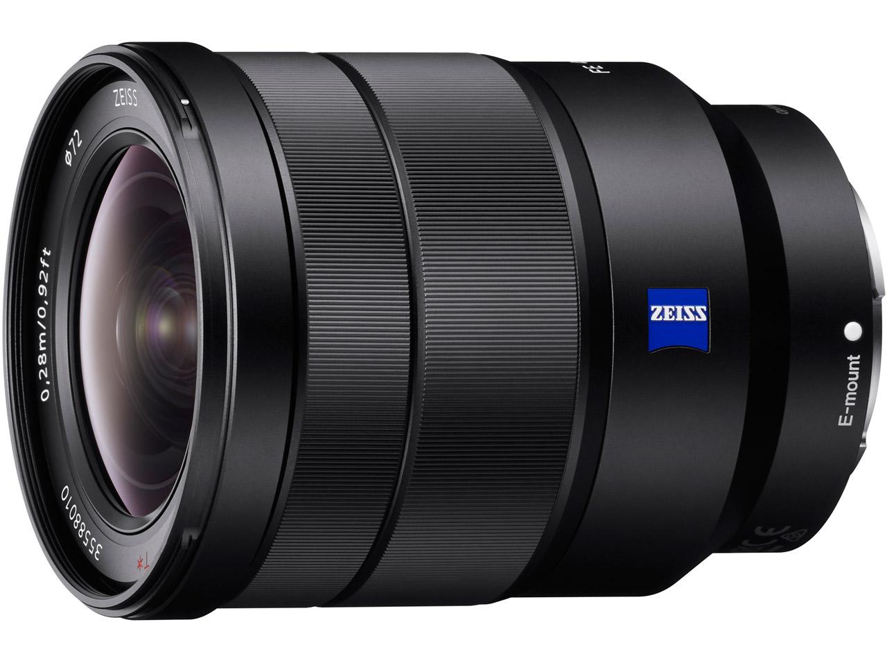 Vario-Tessar T* FE 16-35mm F4 ZA OSS SEL1635Z の製品画像