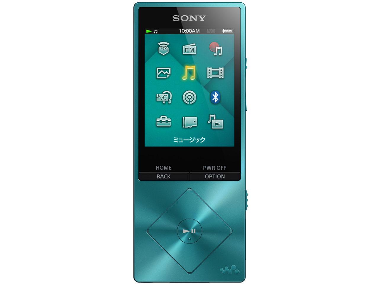 NW-A16 (L) [32GB ブルー] の製品画像