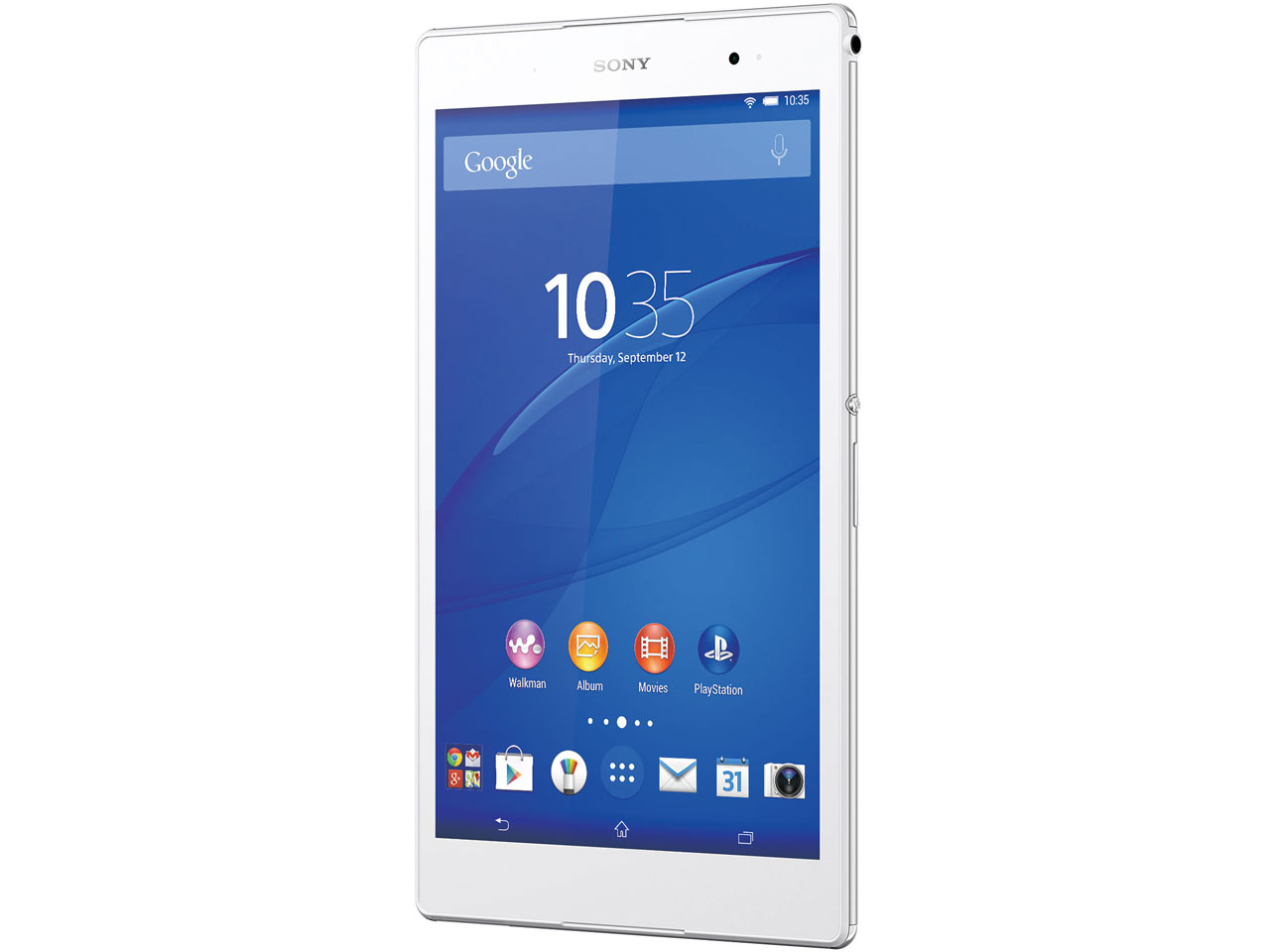 Xperia Z3 Tablet Compact Wi-Fiモデル 32GB SGP612JP/W [ホワイト] の製品画像