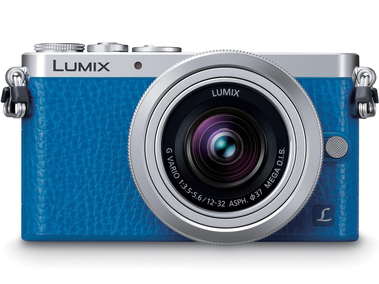LUMIX DMC-GM1SK-A レンズキット [ブルー] の製品画像