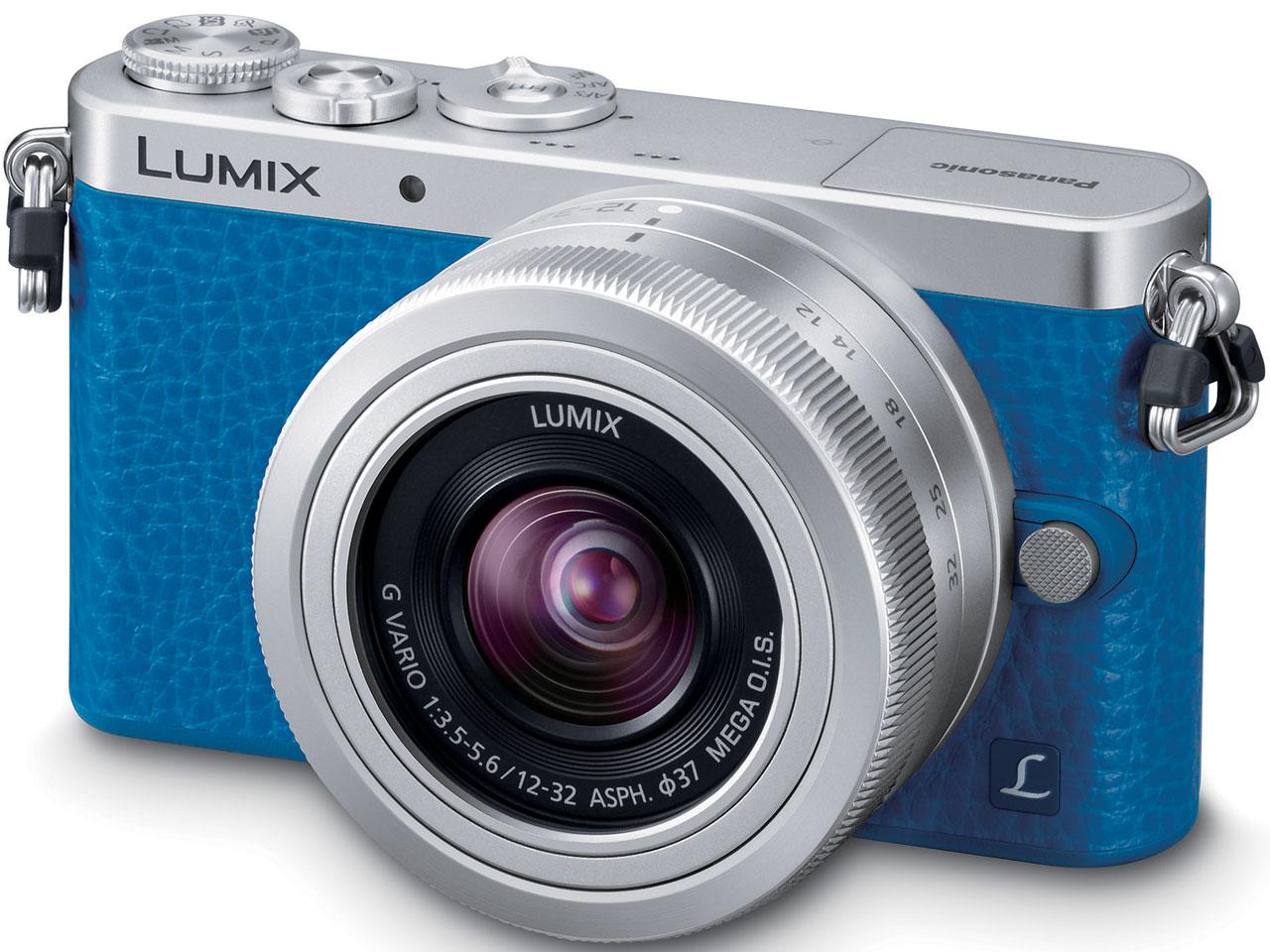 『本体 正面1』 LUMIX DMC-GM1SK-A レンズキット [ブルー] の製品画像