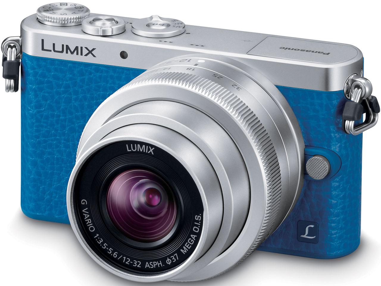 『本体 正面2』 LUMIX DMC-GM1SK-A レンズキット [ブルー] の製品画像
