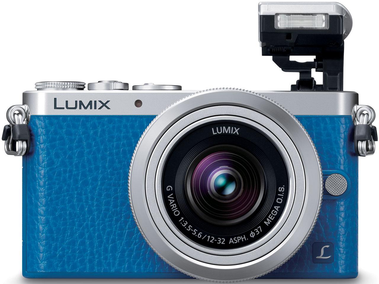 『本体 正面3』 LUMIX DMC-GM1SK-A レンズキット [ブルー] の製品画像