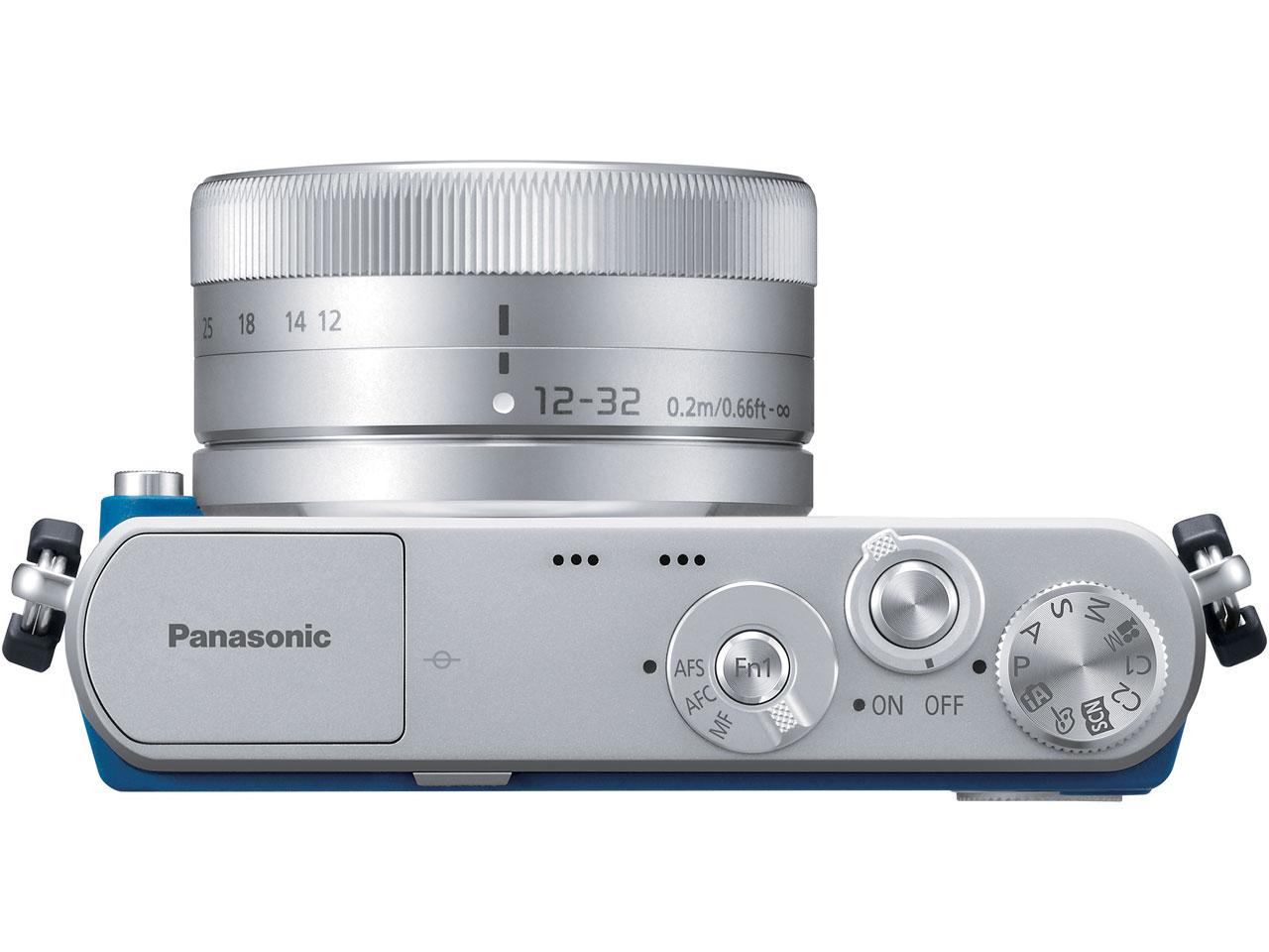 『本体 上面1』 LUMIX DMC-GM1SK-A レンズキット [ブルー] の製品画像