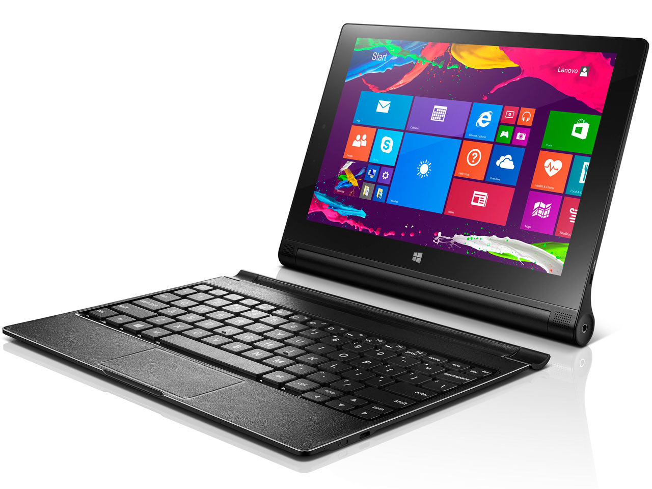 �w�{�� �t���i Bluetooth�L�[�{�[�h�J�o�[�x YOGA TABLET 2-1051F 59428422 �̐��i�摜