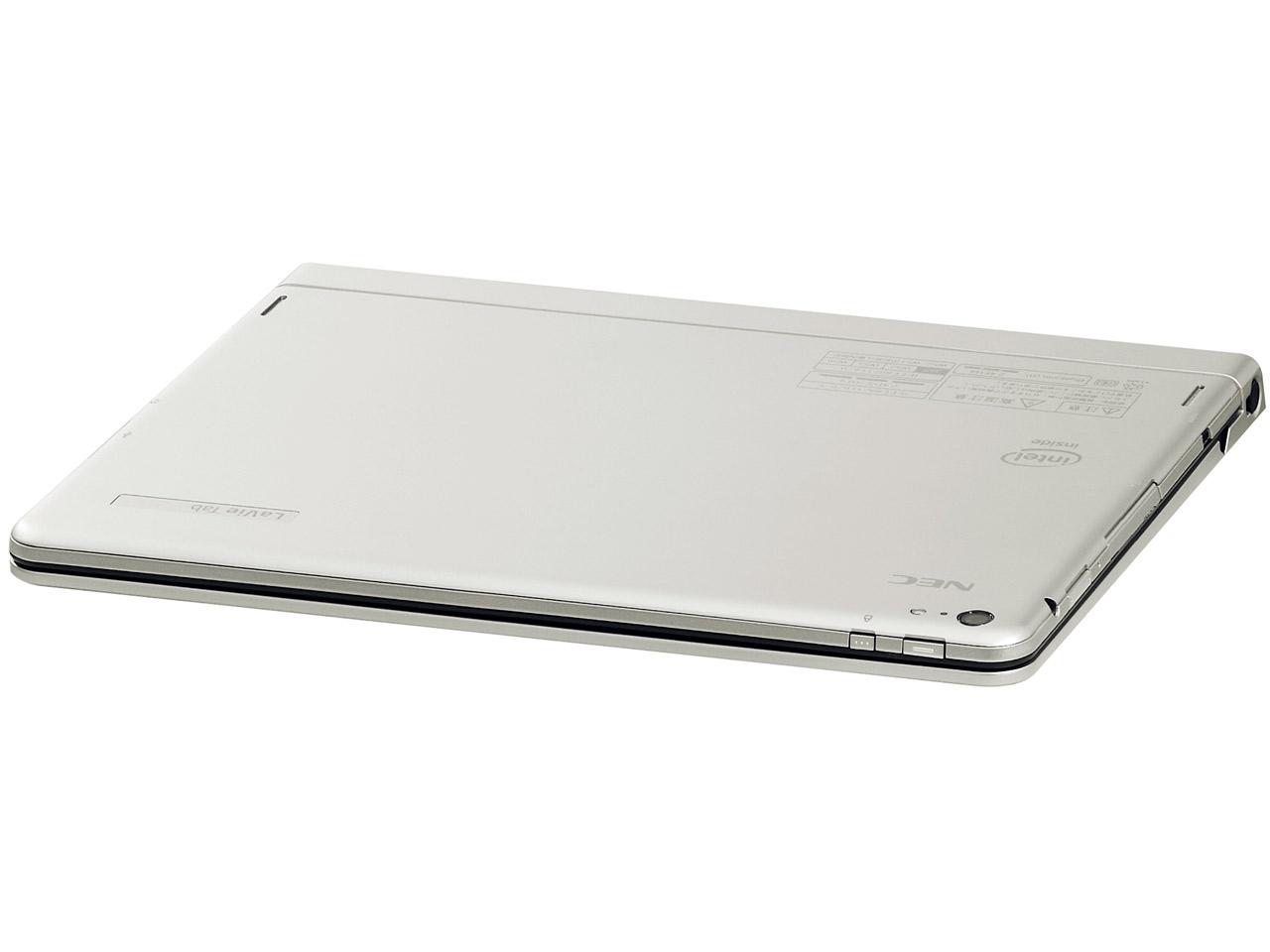 『本体 キーボード装着時 上面』 LaVie Tab W TW710/T2S PC-TW710T2S の製品画像