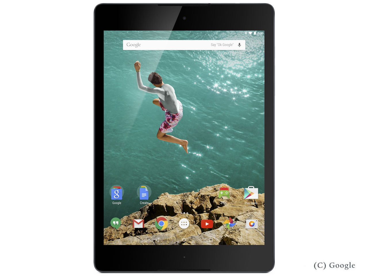 Nexus 9 Wi-Fiモデル 32GB [インディゴブラック] の製品画像