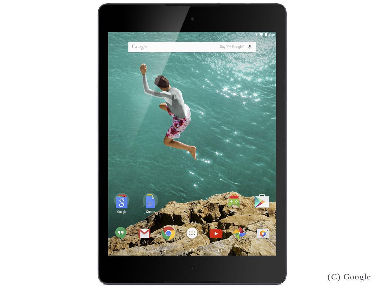 Nexus 9 Wi-Fiモデル 32GB [ルナーホワイト] の製品画像
