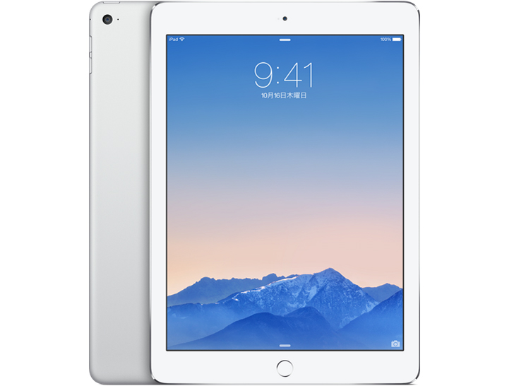 iPad Air 2 Wi-Fi���f�� 16GB MGLW2J/A [�V���o�[] �̐��i�摜