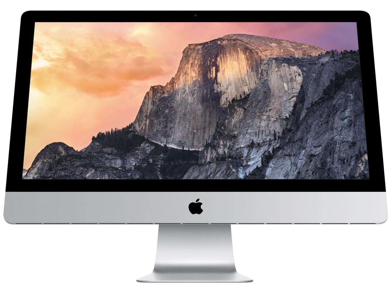 『本体』 iMac Retina 5Kディスプレイモデル MF886J/A [3500] の製品画像