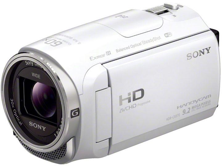 HDR-CX670 (W) [ホワイト] の製品画像