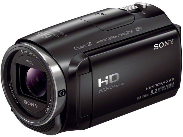 HDR-CX670 (B) [ブラック] の製品画像