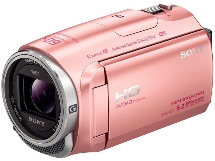 HDR-CX670 (P) [ピンク] の製品画像