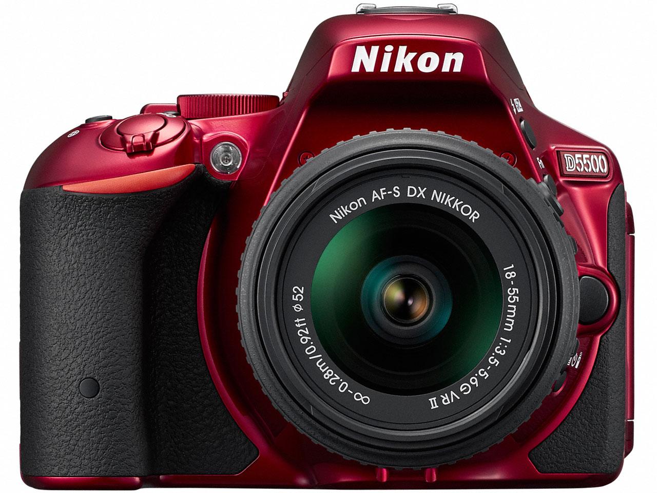 D5500 18-55 VR II レンズキット [レッド] の製品画像