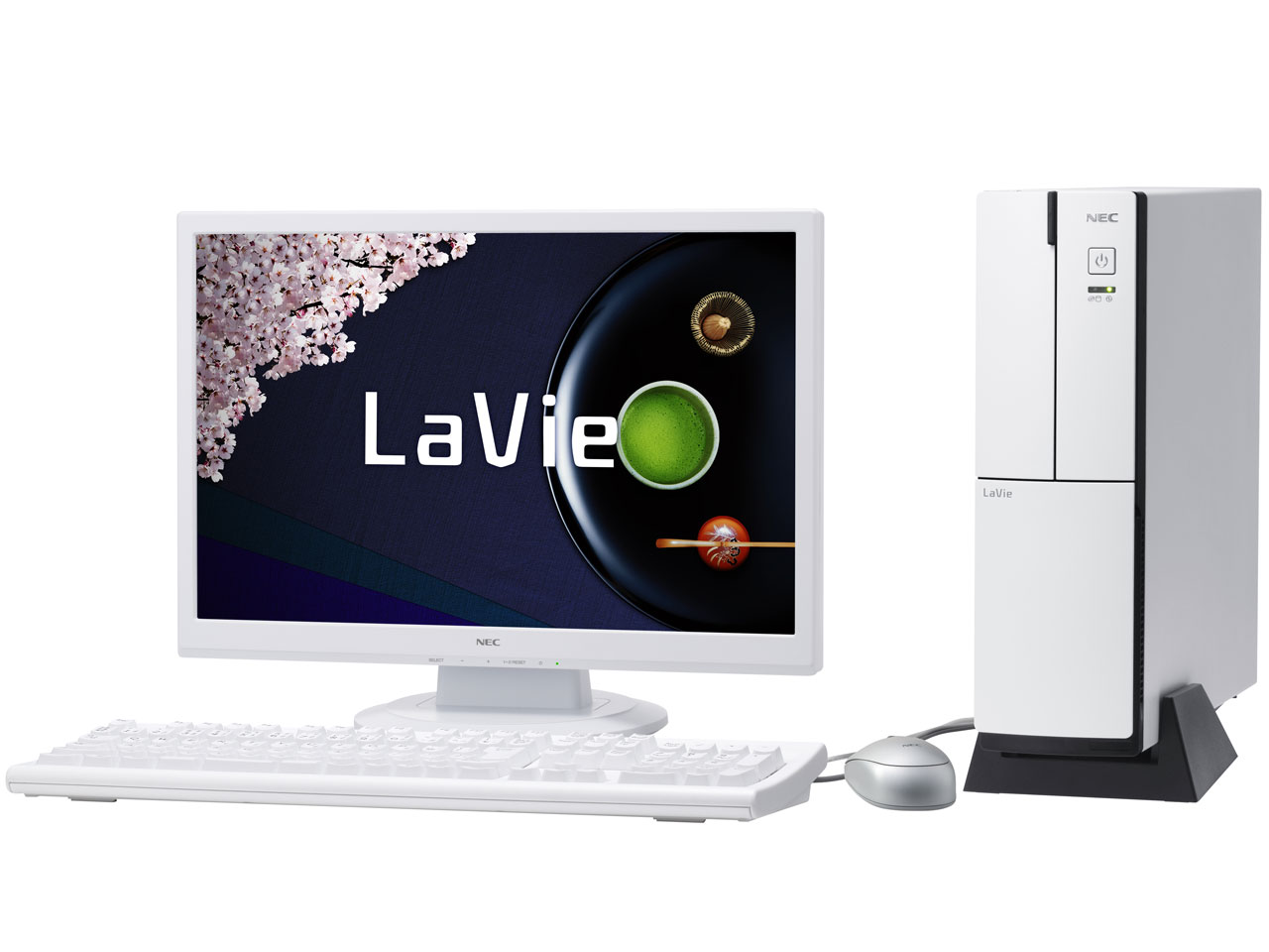 LaVie Desk Tower DT150/AAW PC-DT150AAW �̐��i�摜