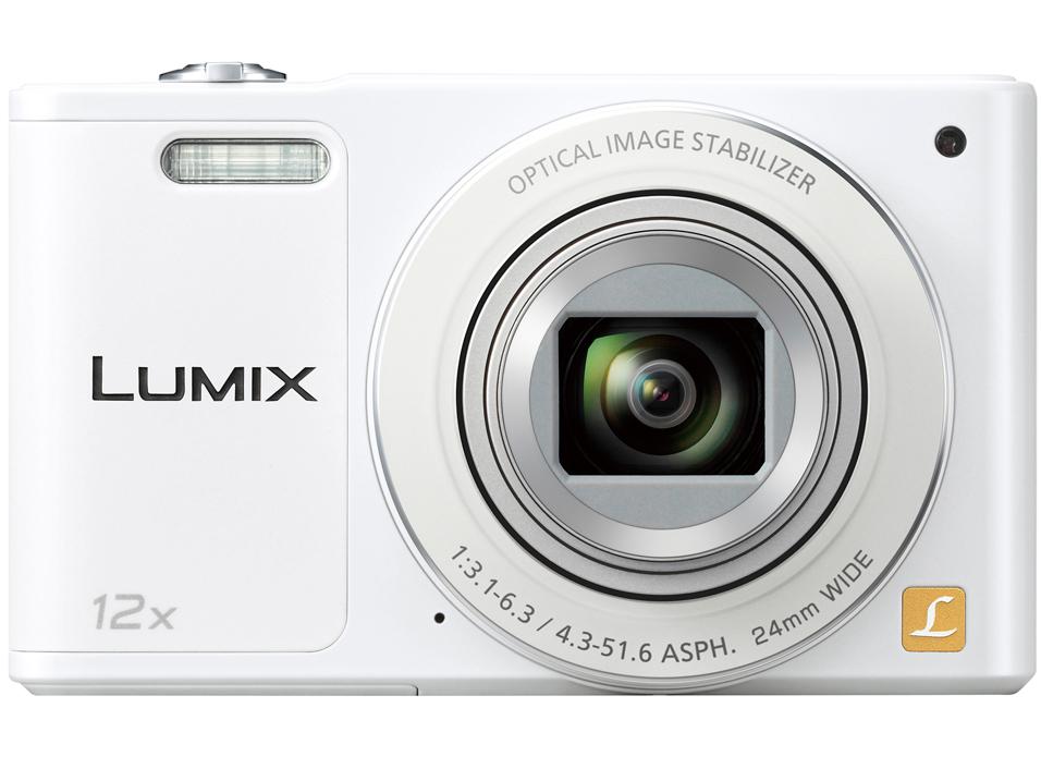 『本体 正面』 LUMIX DMC-SZ10-W [ホワイト] の製品画像