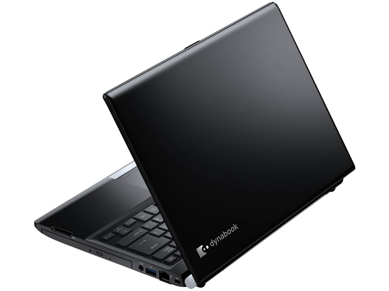 『本体 背面』 dynabook R83 R83/PB PR83PBP-BHA [グラファイトブラック] の製品画像